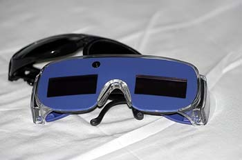 Fotodepilación: gafas protectoras