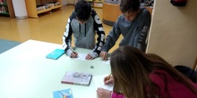 2019_04_04_Quinto visita la Biblioteca de Las Rozas_CEIP FDLR_Las Rozas 8