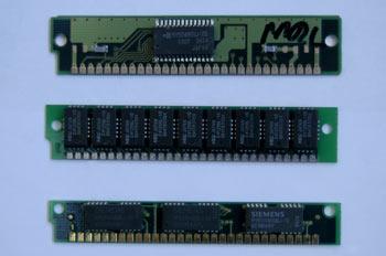 Módulo de memoria tipo SIMM 30 contactos