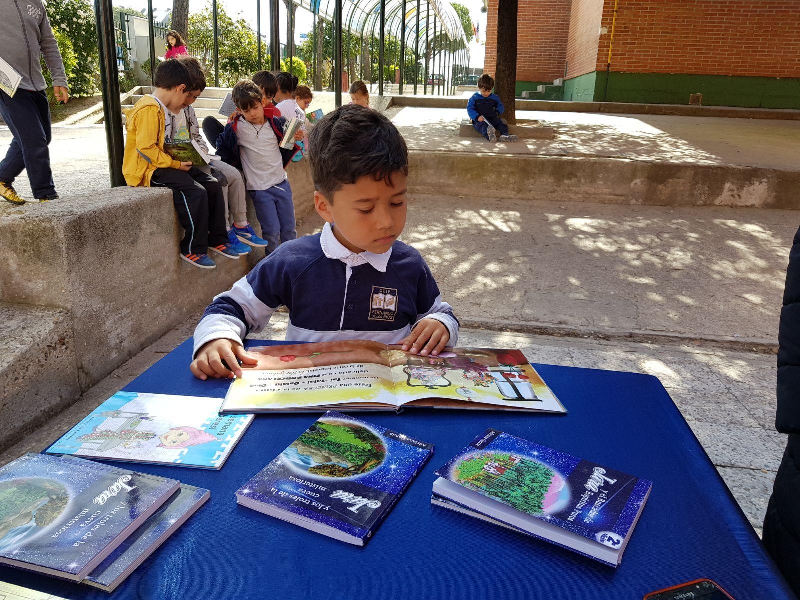 Infantil 5 años y la semana del libro 3