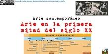 Arte en la primera mitad del siglo XX