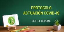 Protocolo actuación CEIP el Bercial Covid-19