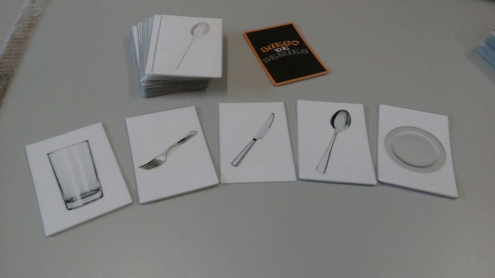 Material para realizar series con y sin modelo 1