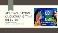 ApS Incluyendo la cultura gitana en el IES