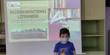 Recomendación literaria de Mateo de primero de primaria