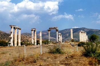 Teatro, Afrodisias, Turquía