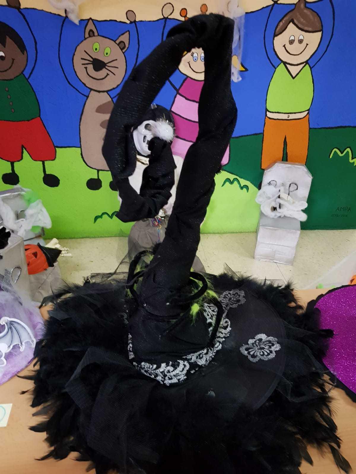 Curso decoración sombreros de bruja 1