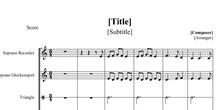 Partitura Yago´s song