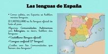 LAS LENGUAS DE ESPAÑA- LENGUA CASTELLANA DE 2º DE E.P. 3º trimestre