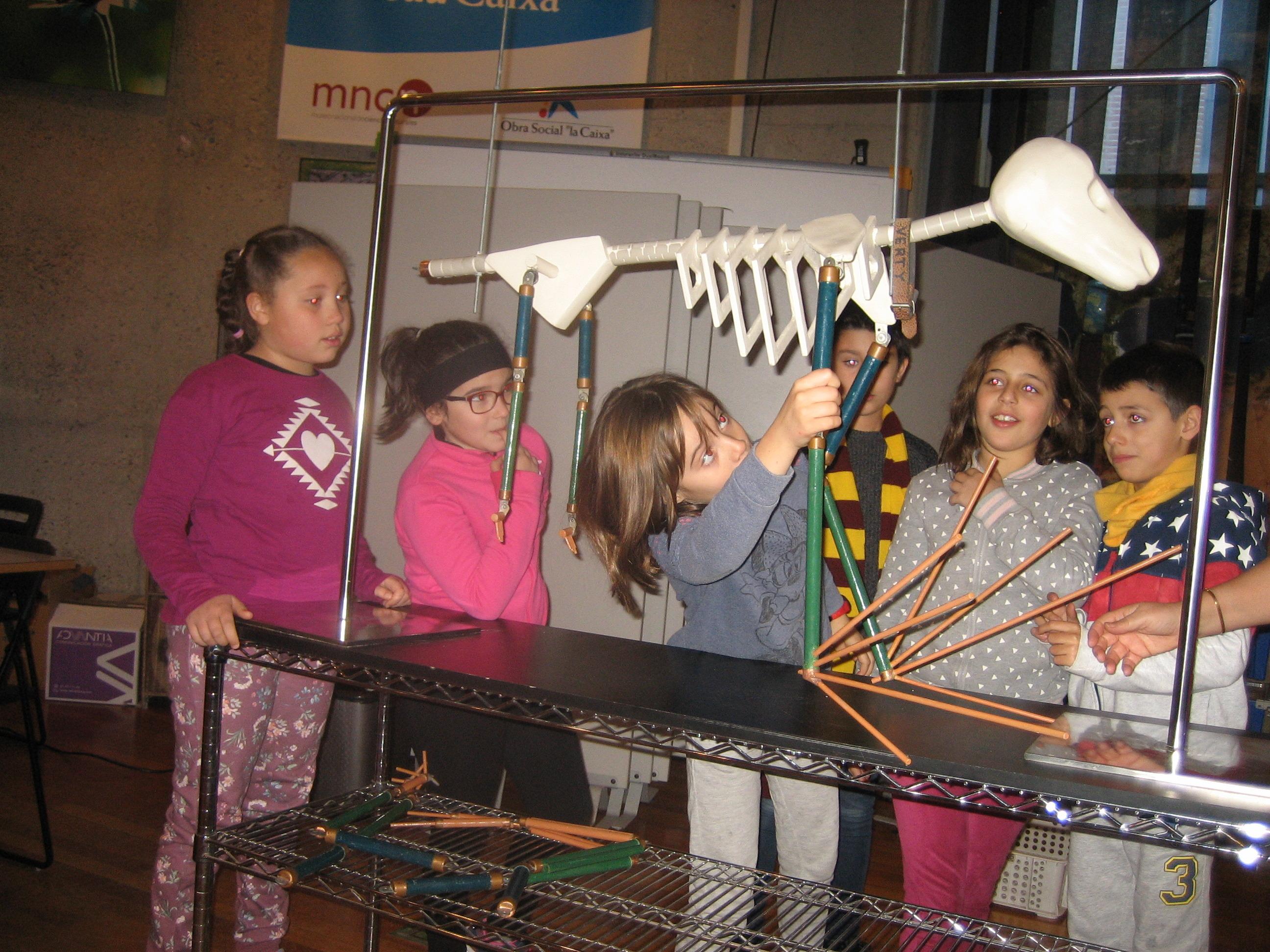 VISITA AL MUSE DE CIENCIAS 3ºA 12