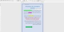 "Prueba examen Word<span class=""educational"" title=""Contenido educativo""><span class=""sr-av""> - Contenido educativo</span></span>"