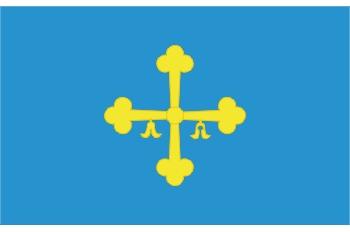 Bandera del Principado de Asturias