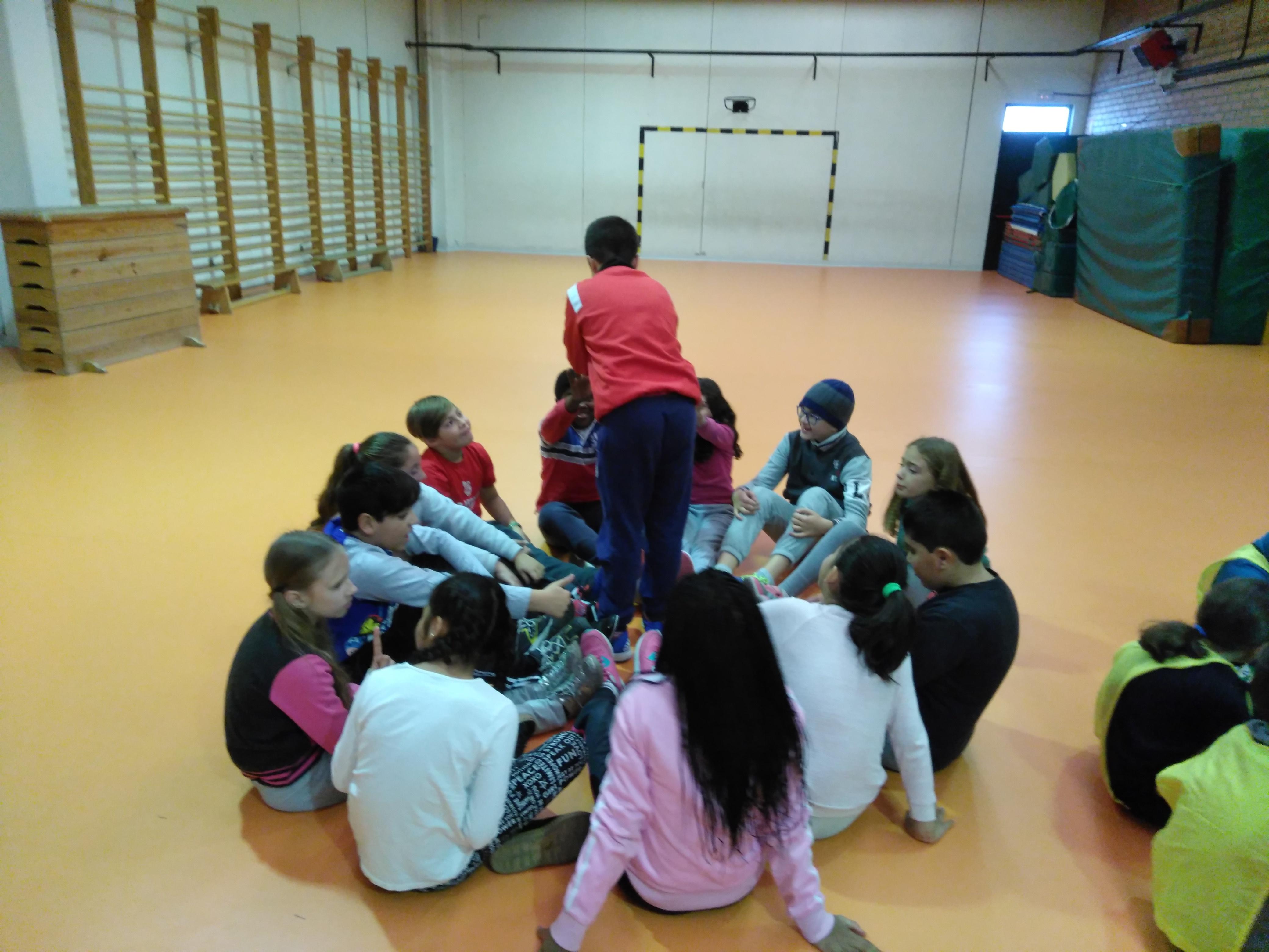 Convivencia en Educación física 10