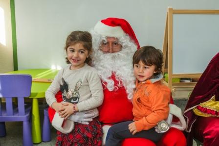 Los RRMM y Papá Noel en INF 4C 9