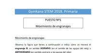 Retos Primaria. Gymkana STEM de la Comunidad de Madrid 2018