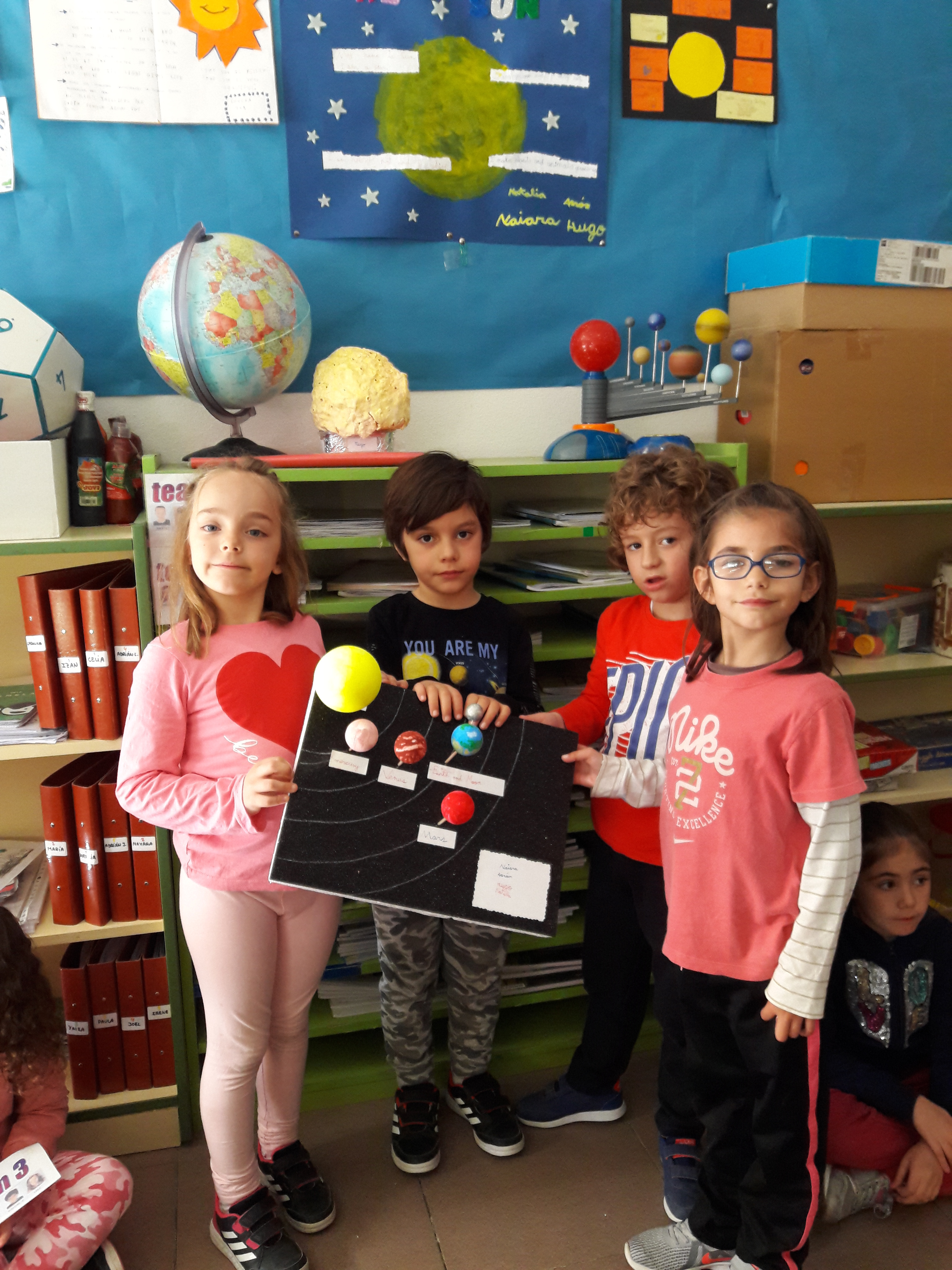 Our Solar System is at School 12