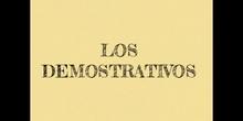 PRIMARIA - 3º - LOS DEMOSTRATIVOS - LENGUA - FORMACIÓN
