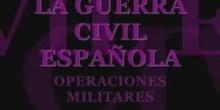 Gerra civil. Operaciones militares