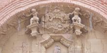 Tímpano, Iglesia Nstra Señora de la Asunción, Munébrega, Zaragoz