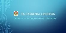 Recursos y servicio IES Cardenal Cisneros