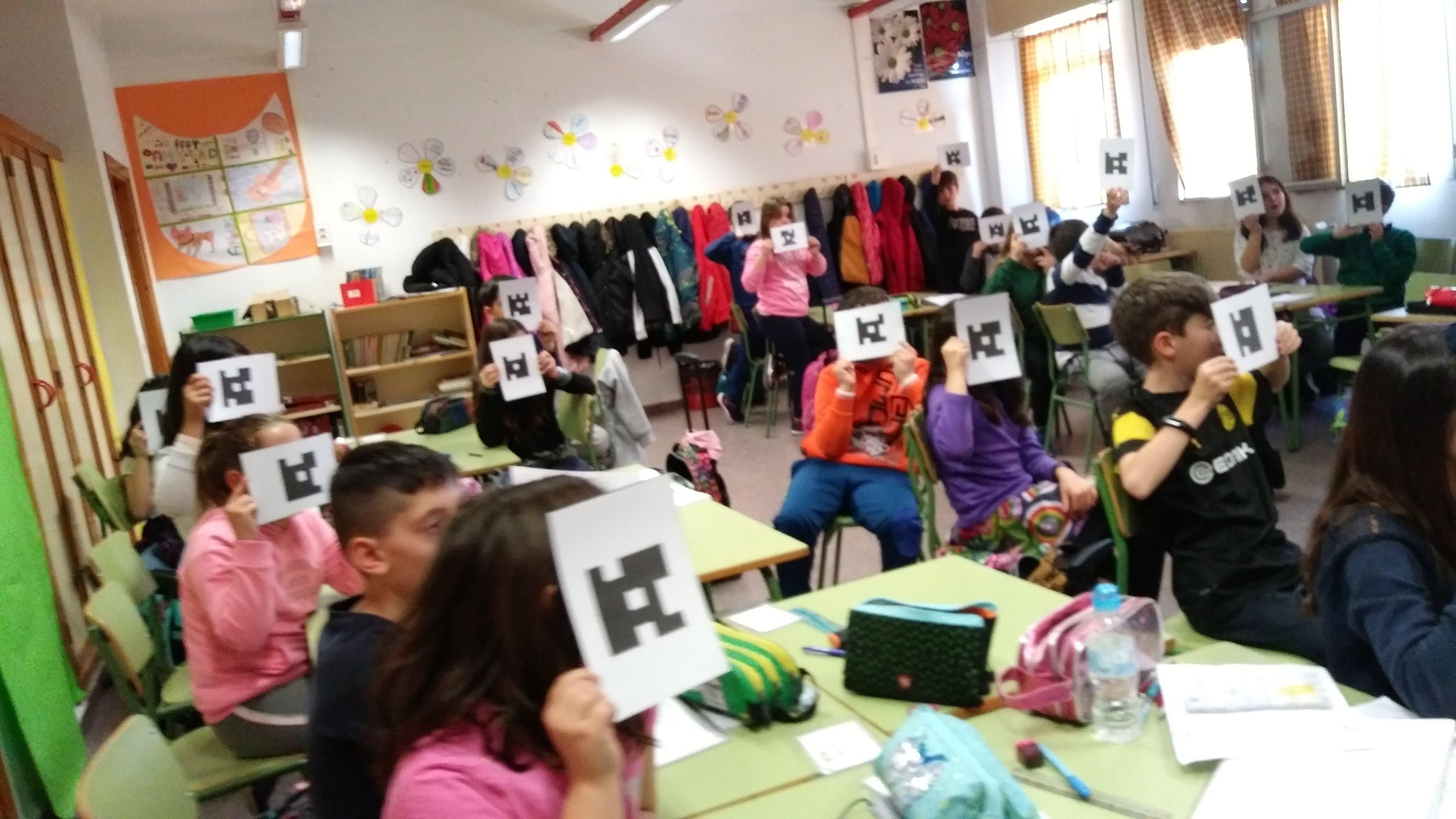 Plickers en el Aula de Inglés 2