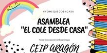 """ASAMBLEA """"EL COLE DESDE CASA"""""""