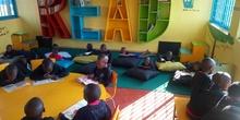 2019_10_10_Biblioteca de Kumwenya School_CEIP FDLR_Las Rozas 3