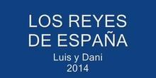 LOS REYES DE ESPAÑA. DANIEL Y LUÍS