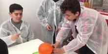 Visita al laboratorio de Mad Science 2