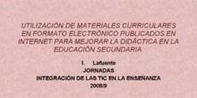 Ponencia Dª.Isabel Lafuente