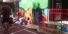 muro colaborativo infantil