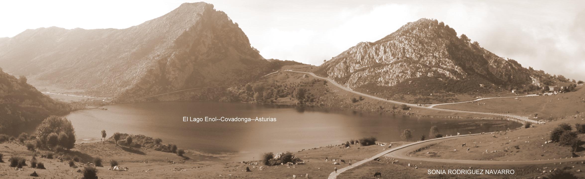 Recuerdo lago Enol