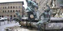 Fuente en Piazza della Signoria, Florencia