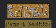 INFANTIL 5 AÑOS - PREHISTORIA PARTE III - FORMACIÓN