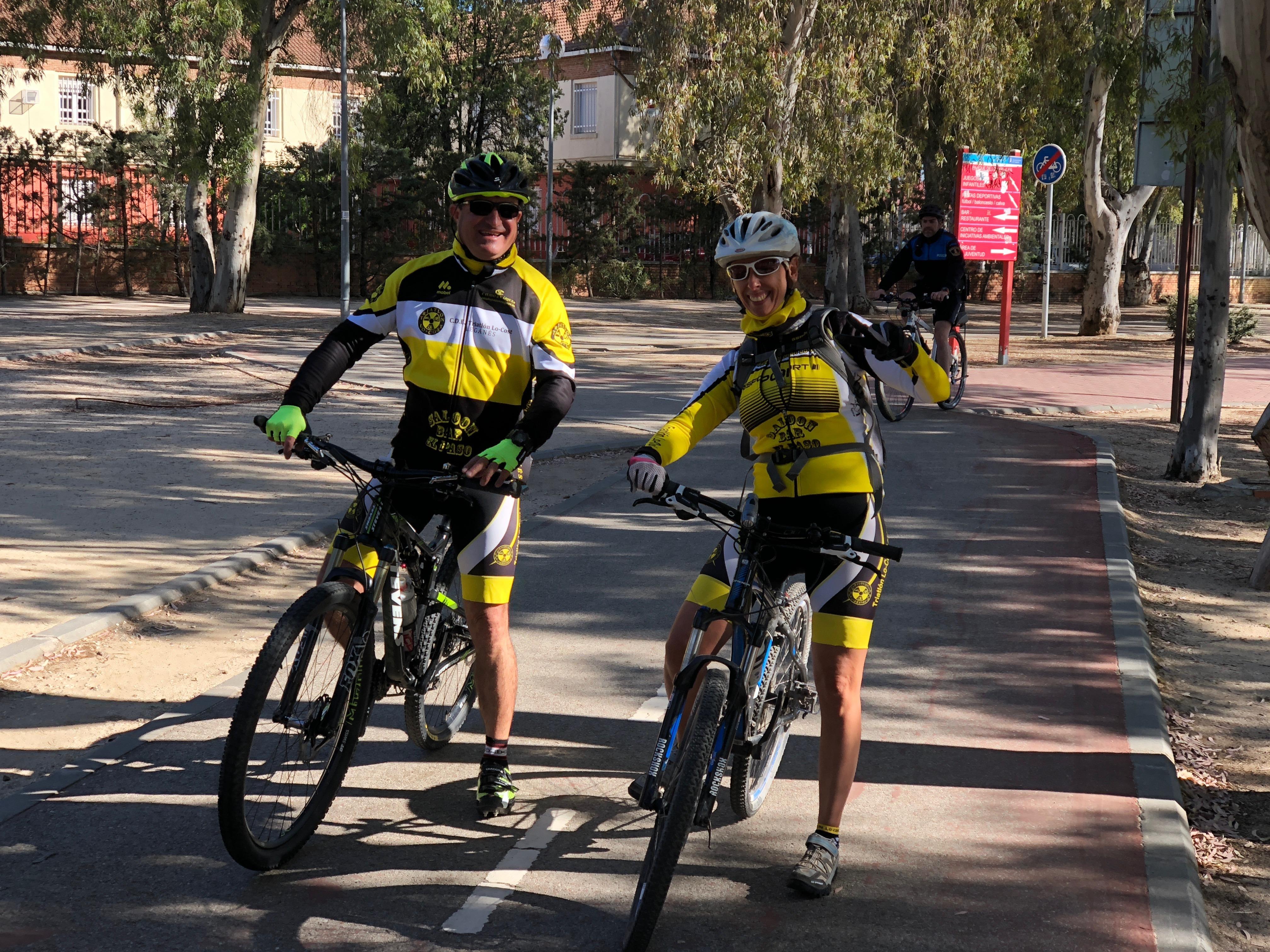 Salida en bicicleta a Polvoranca 23