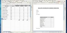 Combinar correspondencia con Libreoffice: Calc y Writer