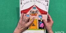 """Viajando en cuarentena: sueños al pie de un arcoíris: CUENTO REDONDO """"LAS BODAS DE LA PULGA Y EL PIOJO II"""""""