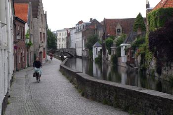 Calle Gouden Handrei, Brujas, Bélgica