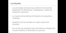 5º sociales el sector secundario en España