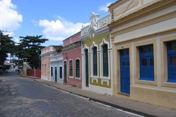 Caserio de Olinda, Pernambuco, Brasil