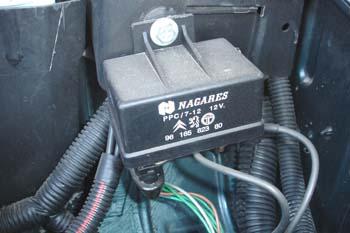 Caja de control de calentadores para motor diesel