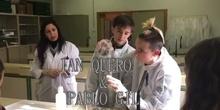 Espejo de plata. Día 3º de Los Viernes con la Ciencia (II). IES Las Canteras