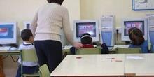 Realizando actividad con el ordenador