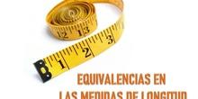 EQUIVALENCIAS EN LAS MEDIDAS DE LONGITUD, POR JUAN REGALÓN