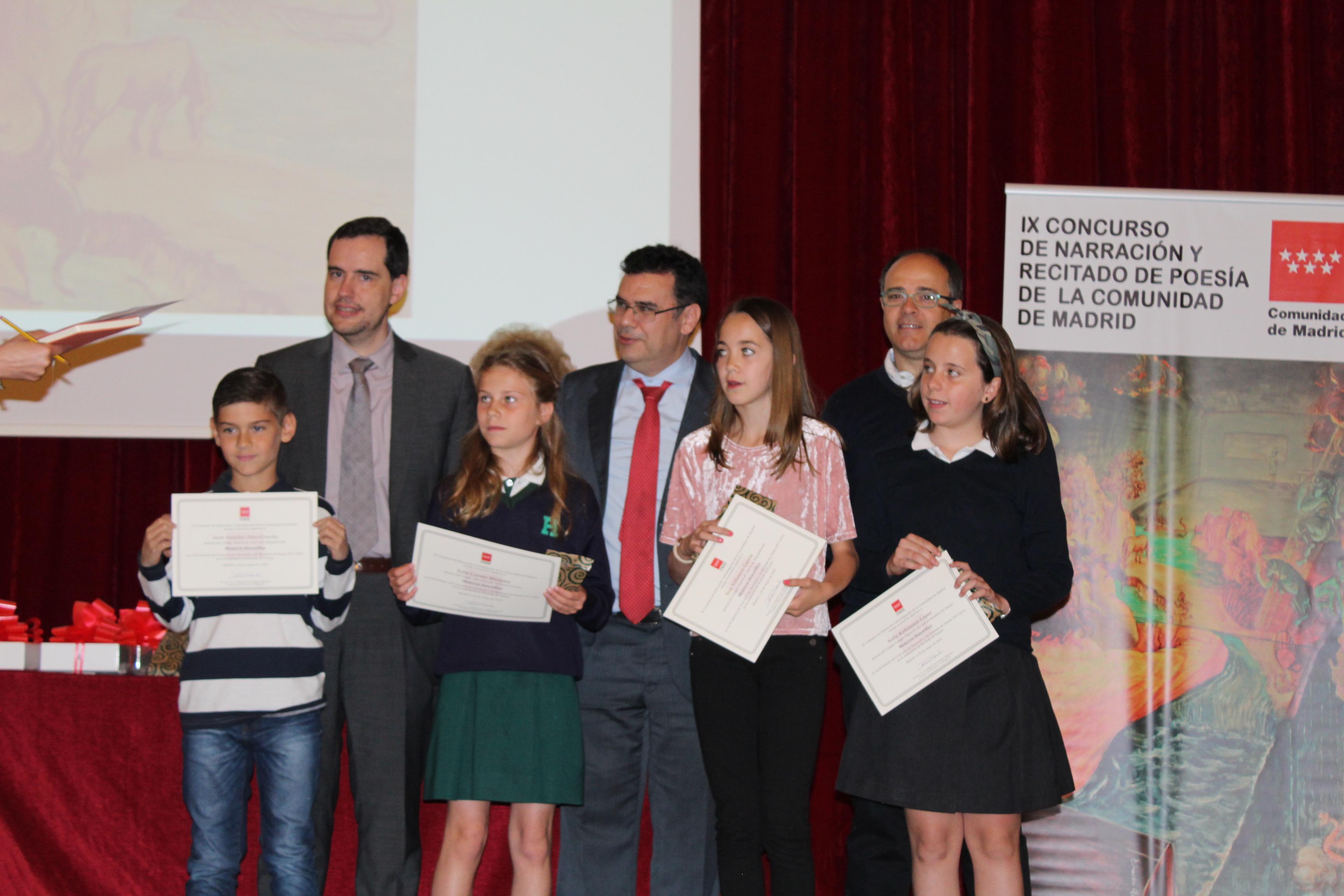 Entrega de los premios del IX Concurso de Narración y Recitado de Poesía 26