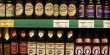 Estantería de cervezas