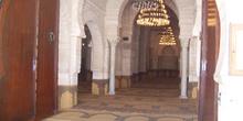 Interior, Gran Mezquita ,Sousse, Túnez