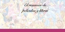 PRIMARIA 6ºA - LENGUA CASTELLANA Y LITERATURA - RESUMIR LIBROS Y PELÍCULAS