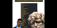 SECUNDARIA - TODOS - PHONETICS - INGLÉS - FORMACIÓN