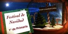 Festival de Navidad. 1º de Primaria. Curso 2017/18